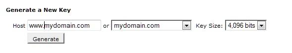 SSL key